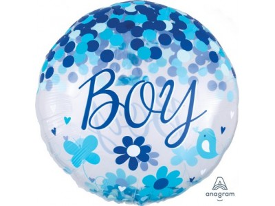 pallone foil baby shower