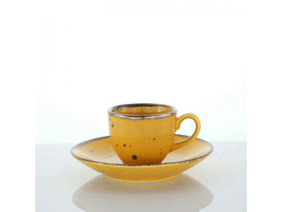 set 6 tazze caffe decorato a mano