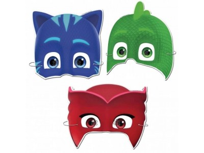 mascherine super pigiamini pj masks